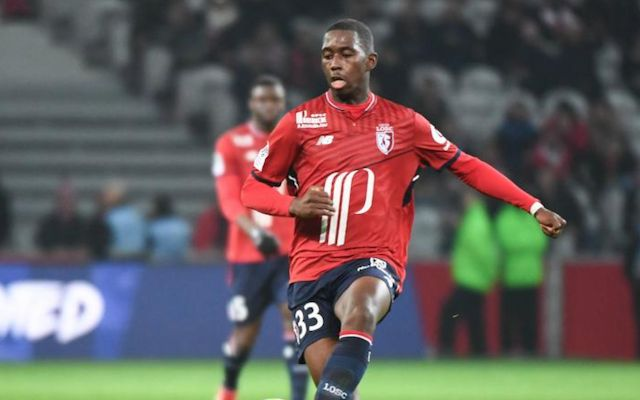 Boubakary Soumare has caught Guardiola's eye after impressive performances for his French side Lille this season