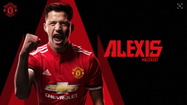 5e461c28face Done deal: Manchester United confirm Alexis Sanchez transfer from Arsenal,  shirt number revealed