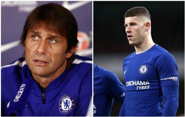 the latest c1574 e2e2b Chelsea news: Antonio Conte dig at Ross Barkley