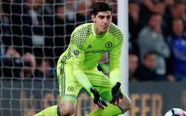 chelsea 'keeper Thibaut Courtois