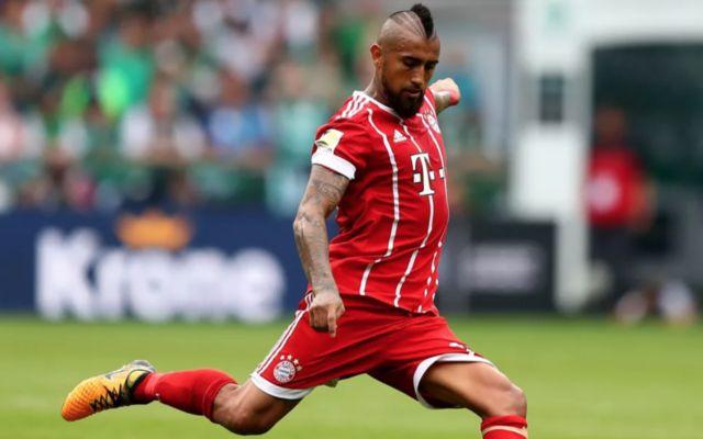 Bayern Munich's Arturo Vidal