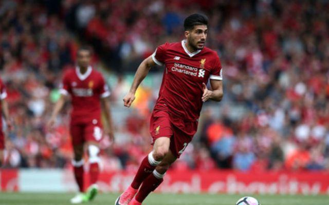 Liverpool midfielder Emre Can