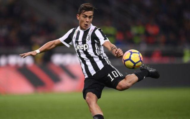 Juventus' Paulo Dybala