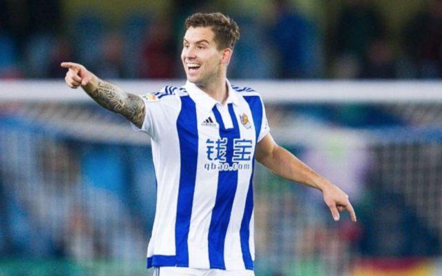 Real Sociedad's Inigo Martinez