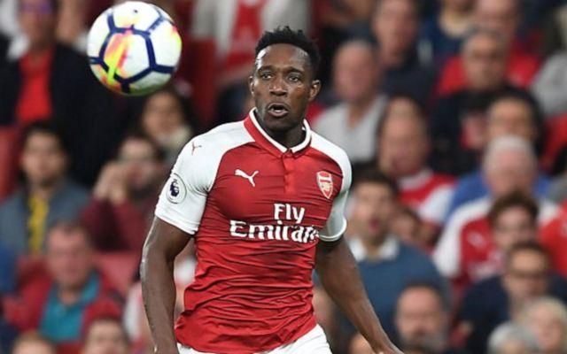 Arsenal forward Danny Welbeck