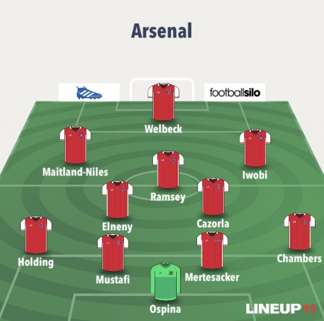 Arsenal V Liverpool The Sanchez Snub And Gunning For: How Arsenal Could Line-up Following £60m Aubameyang Arrival