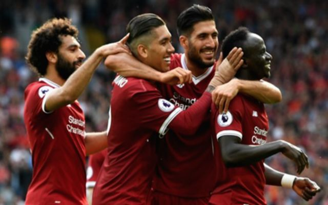 Sala, Firmino, Can and Mane Liverpool