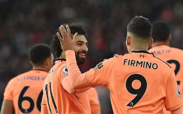 Firmino and Salah Liverpool