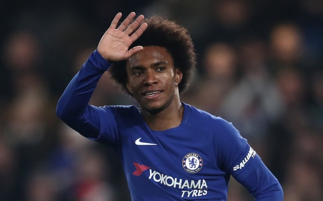 Willian pictured during his two-goal MOTM display against Hull City in the FA Cup
