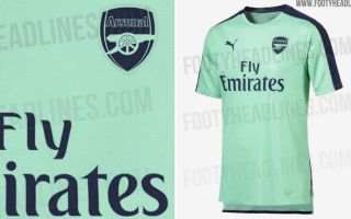 0e77fb4a6 Arsenal new kit  2018 19 third strip by Puma supposedly leaked and it s  horrific. Arsenal FC
