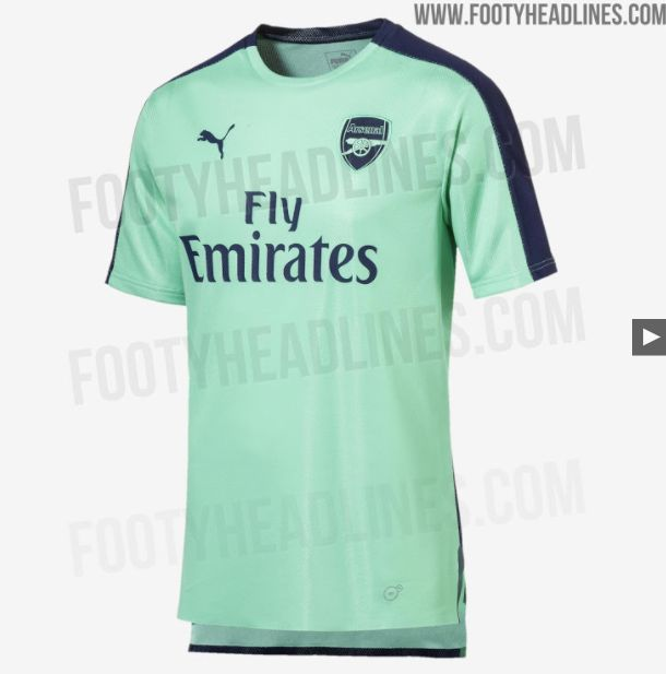 size 40 2cab5 66a91 Arsenal new kit: 2018/19 third strip from Puma looks dire