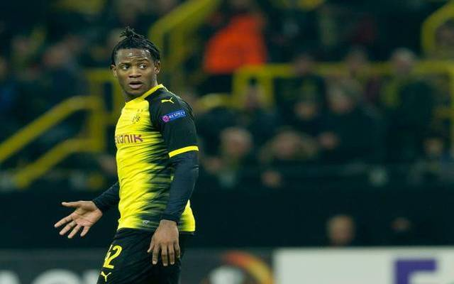 Chelsea and Dortmund striker Michy Batshuayi