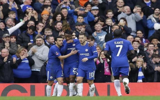 Chelsea forward Michy Batshuayi