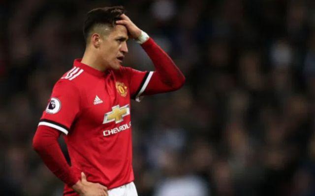 Man United star Alexis Sanchez