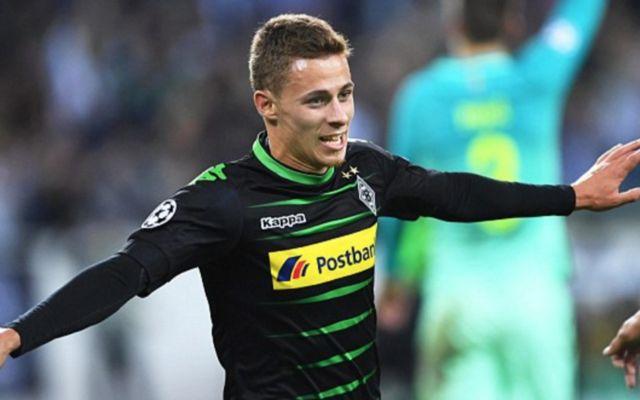 Borussia Monchengladbach's Thorgan Hazard