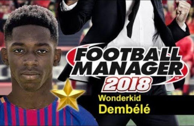 ousmane dembele football manager 2018
