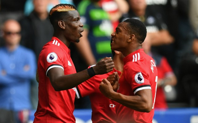 pogba martial man united