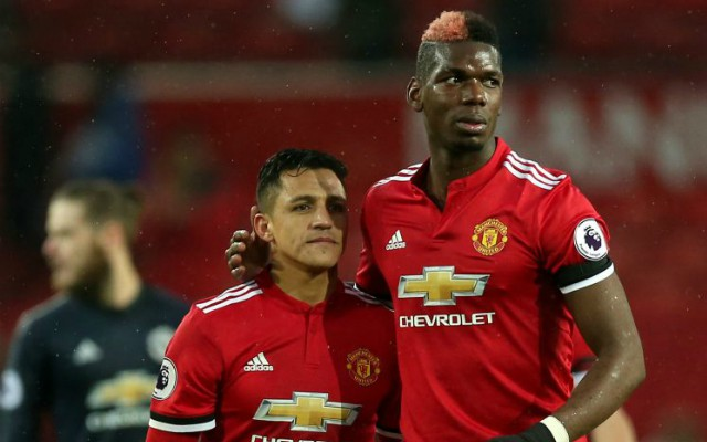 sanchez pogba man united