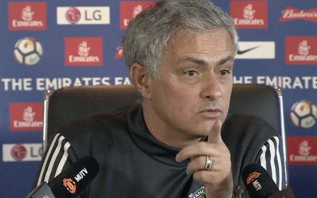 Mourinho Man Utd press conference