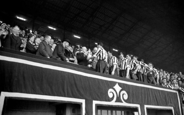 Newcastle FA Cup win 1952