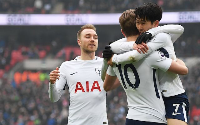 Heung-Min Son has been in fine form for Tottenham of late.