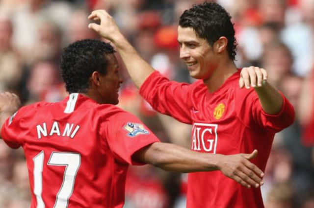 Nani and Ronaldo both made the switch from Sporting Lisbon to Man United.