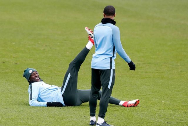 Mendy has returned to Man City training for the first time since September.