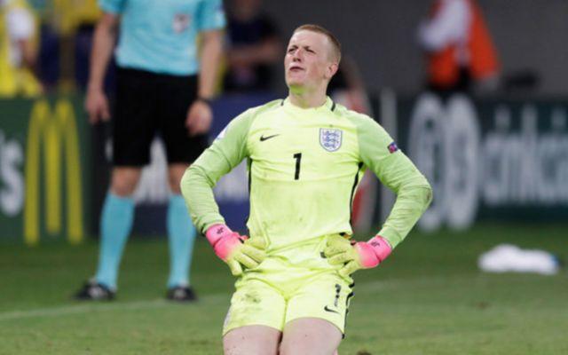 England 'keeper Jordan pickford
