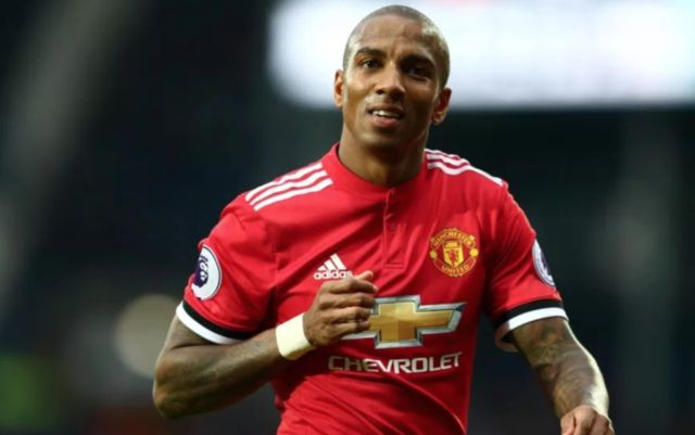 Man United's Ashley Young