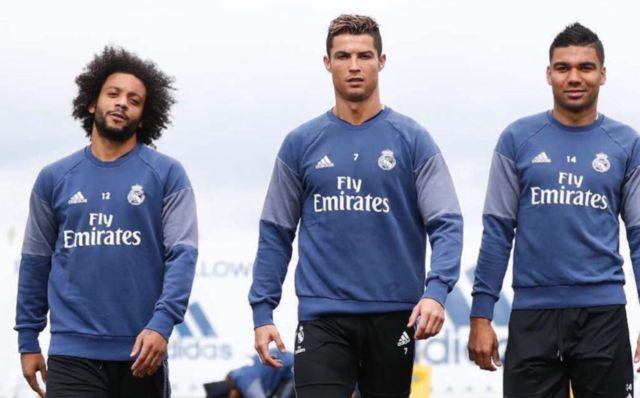 Marcelo Casemiro Ronaldo Real Madrid