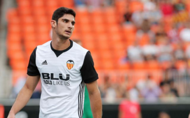 Valencia's Goncalo Guedes
