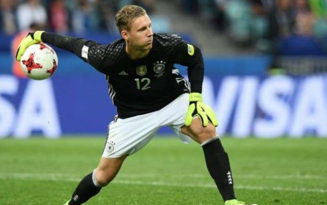 Leverkusen goalkeeper Bernd Leno