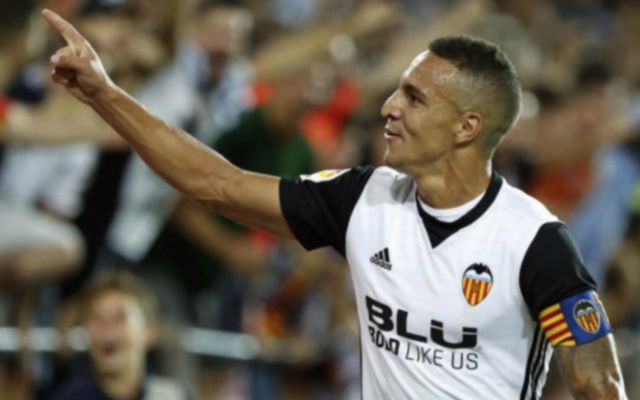 Valencia forward Rodrigo