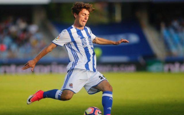 Real Sociedad Alvaro Odriozola