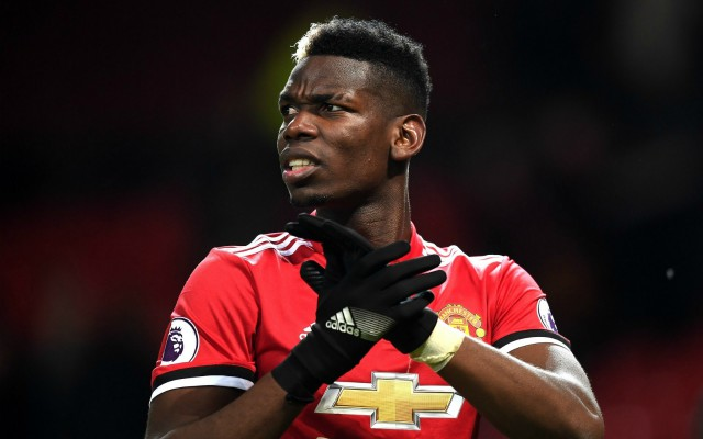 paul pogba man united. Paul Pogba reacted to being offered to Man City