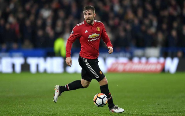 Luke Shaw could leave Manchester United as Everton show an interest