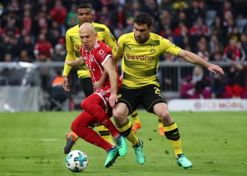 Arsenal have been linked with a move for Borussia Dortmund star Sokratis Papastathopoulos