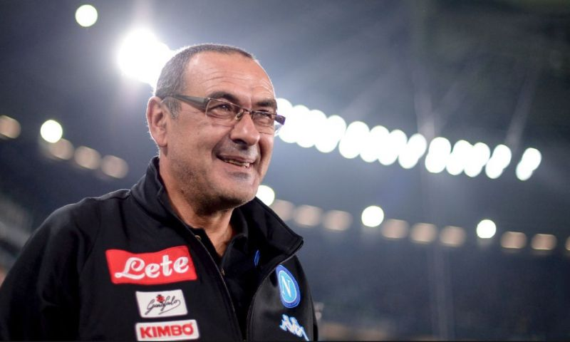 Maurizio Sarri has been linked with a move to Chelsea