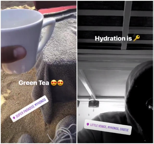 Jesse Lingard drinks green tea and says- 'Hydration is key'