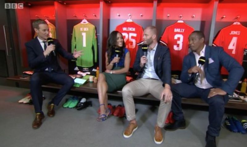 Did BBC footage accidentally reveal United's starting eleven?