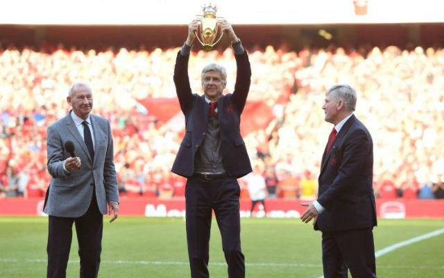 Wenger golden premier league