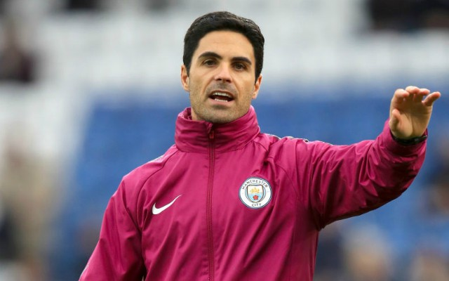 Manchester City's Assistant Coach Mikel Arteta. Arsenal manager odds: Mikel Arteta favourite as his odds crash in last 24 hours