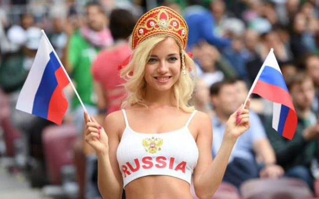 Hottest fans World 2018 from the stunning  Cup including
