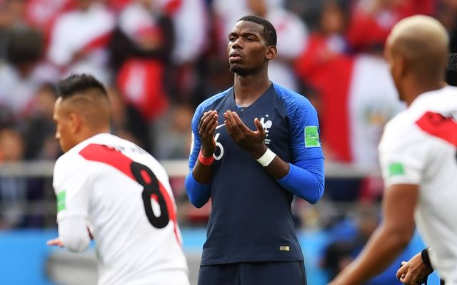 Pogba France vs Peru World Cup. Denmark vs France starting lineup confirmed: Pogba rested but Lemar starts