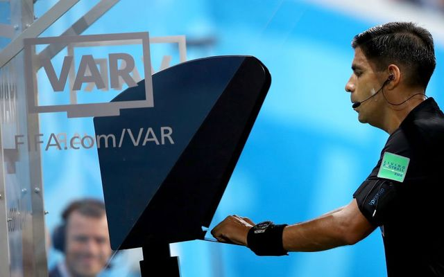 VAR referee Portugal Iran