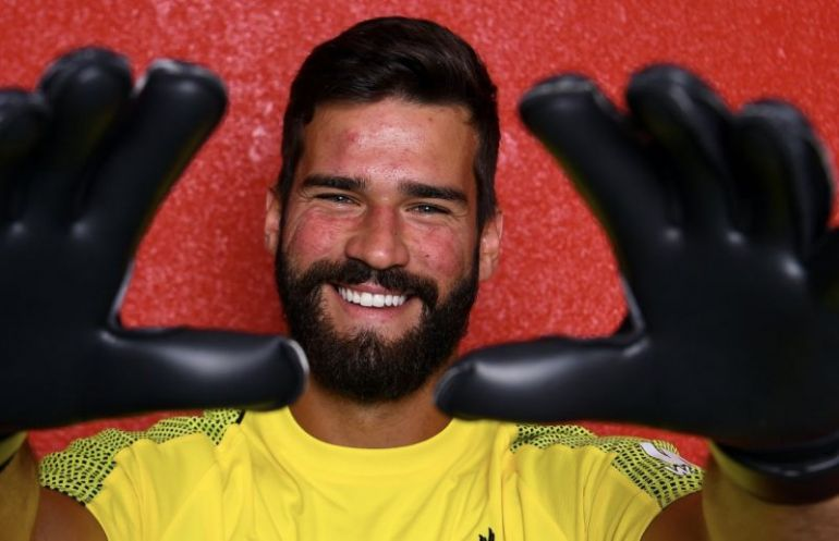 Liverpool newbie Alisson is the world's most expensive goalkeeper