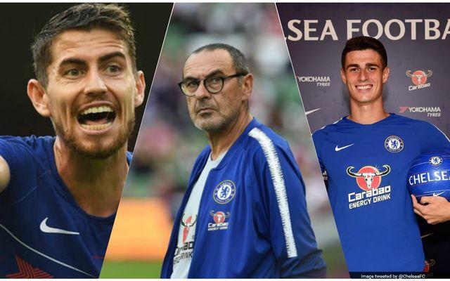 Chelsea Sarri Jorginho Kepa