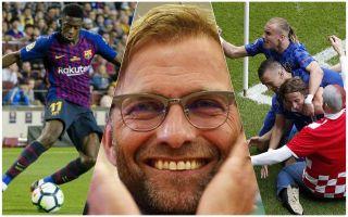 Liverpool Dembele Vida transfers in, Sturridge out