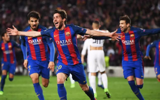 Roberto's goal will go down as one of the most dramatic in Champions League history