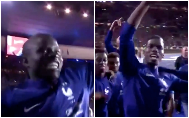 Video Kante And Pogba Celebrations At France Homecoming
